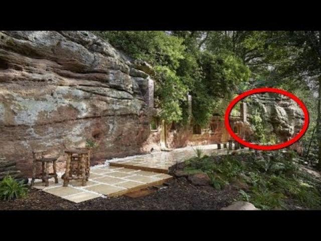 What's Behind His Rock Wall Is The Last Thing You'd Expect This Is Incredible