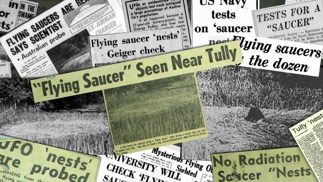 The Mysterious Tully Australia Saucer Nest UFO Incident from 1966 (Declassified File) - FindingUFO