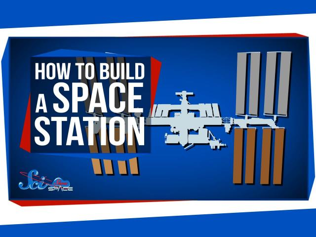 how to build a telescope in space