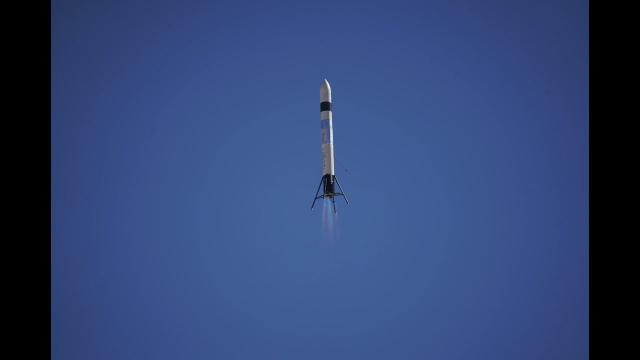 LinkSpace's Rocket Prototype Launches and Lands in 3rd Test - Raw Video