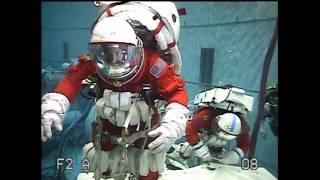 Upgraded Space Shuttle 'Pumpkin-Suit' Tested For Asteroid Mission EVA | Video