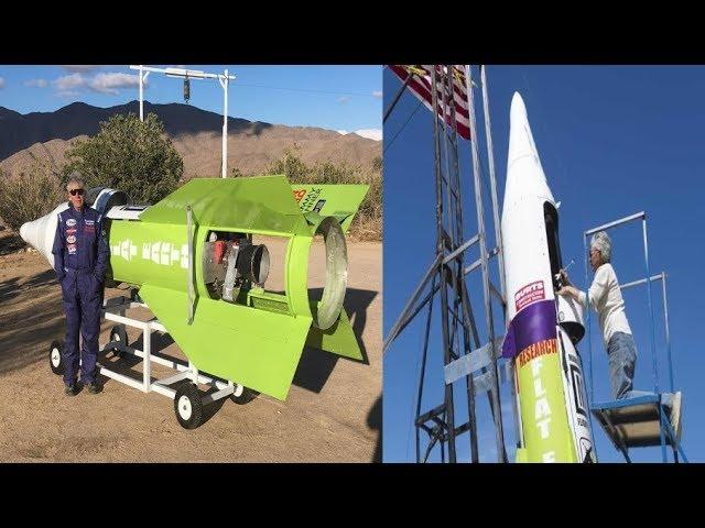 Dedicated Man Builds Rocket to Prove a Theory But Then This Happened