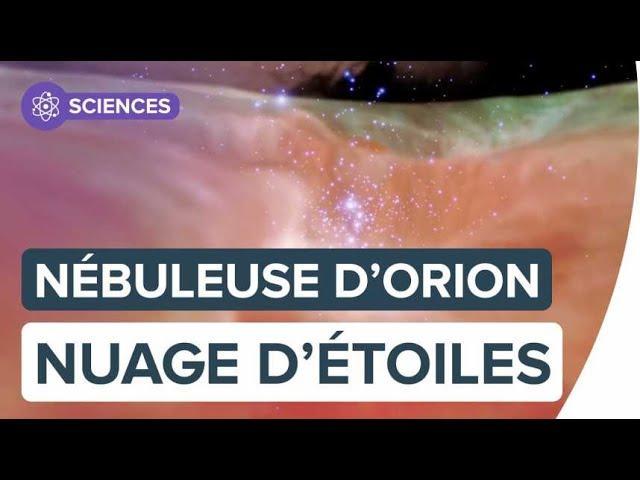 Nébuleuse d'Orion, un nuage rempli d'étoiles | Futura