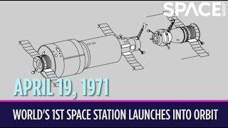OTD in Space – April 19: World's 1st Space Station Launches into Orbit