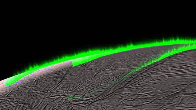 Saturn Moon's Eruptions Are 'Curtain-Like', New Research Suggests | Video