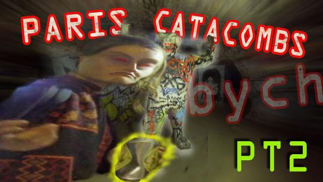 Paris Catacombs PT2 - BONEz N BYCH! - 4K 3hr URBEX