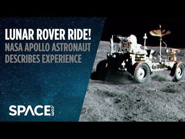 Lunar Rover Ride - Apollo 16 Astronaut Describes Experience