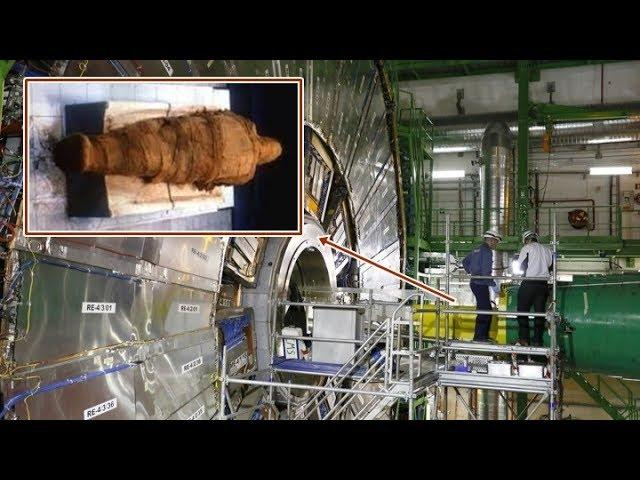 """Why did scientists put a """"MUMMY"""" in the center of the Large Hadron Collider?"""