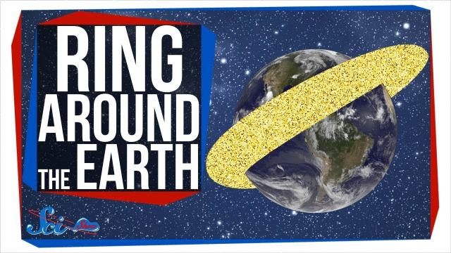 That Time We Gave Earth a Ring Made of Millions of Tiny Needles
