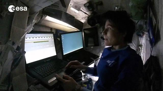 Sleeping On Space Station - Intimate Look Inside The Crew Quarters | Video