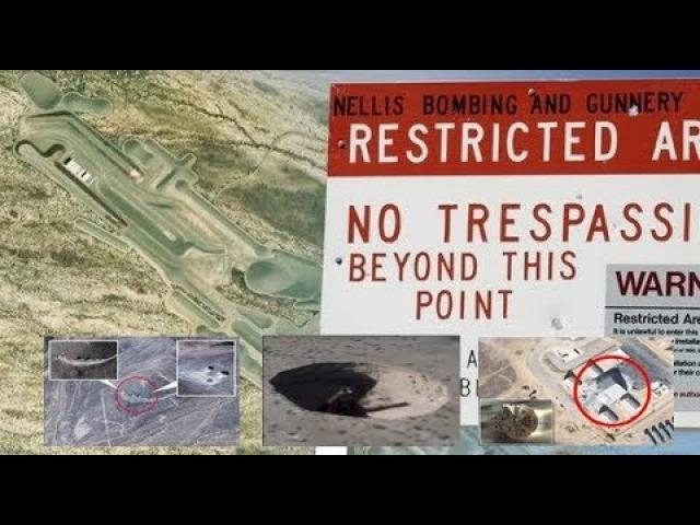 Google Earth 'exposes Area 51 secrets' in bombshell videos