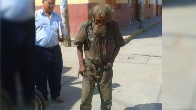 These Neighbors Cleaned up This Homeless, You Won't Believe How He Looked After!!