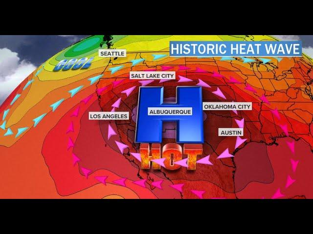 Prepare for a Weeks Long Heat Wave! Tropical Storm Fay Landfall! More Severe Weather!