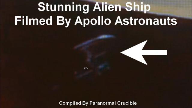 Stunning Alien Ship Captured  By Apollo Astronauts?
