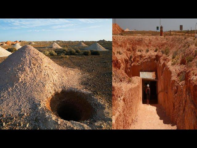 There Is An Entire Town In Australia That Lives Beneath The Surface