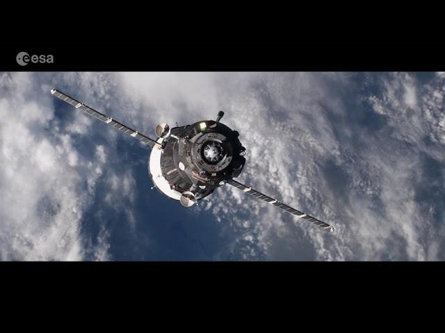 ESA Astronaut's Visually Stunning Space Station Journey Highlighted