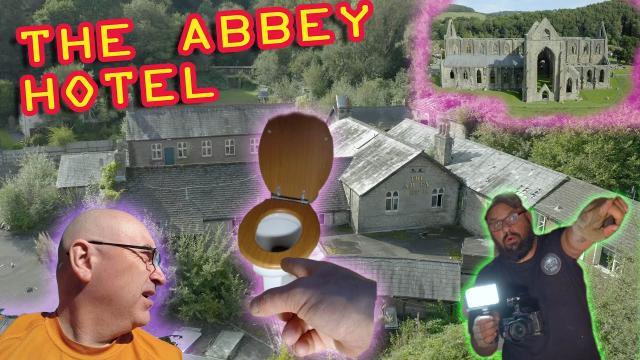 TOILET SPARED DEATH at Abbey Hotel Tintern