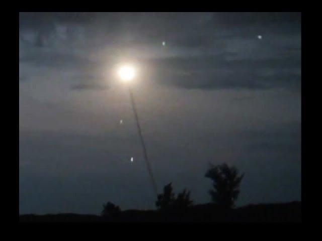 UFO Sightings Secret Pentagon Missile Over Kauai May 2014! Shot Down Like Russian Proton Rocket?