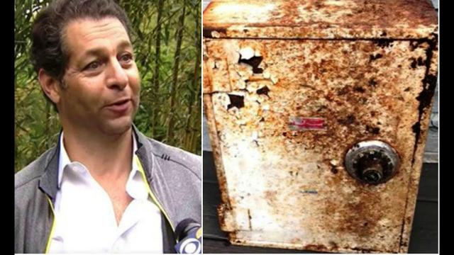 This Man Discovered A Rusty Old Box In His Yard, And Inside Lay A Cache Of Treasure Worth $52,000