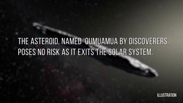 Strange Looking Interstellar Asteroid - NASA Talks About Amazing Find