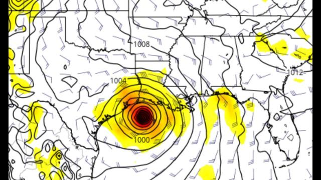 RED ALERT! Texas & Gulf States prepare for a Category 2 Hurricane landfall around the 7th* of June