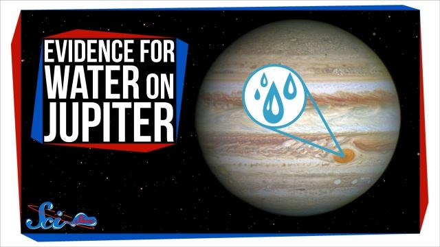 New Evidence of Water on Jupiter! | SciShow News