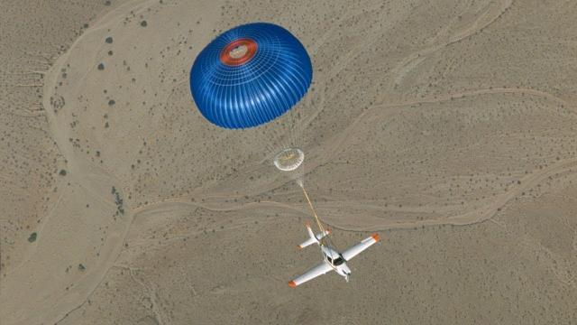 NASA Parachutes for Airplanes