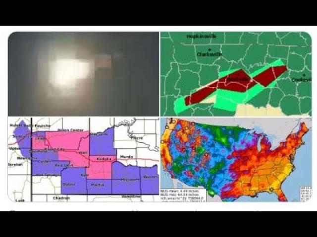 Nashville Flood Alert! Norway Meteor! New Mexico UFO! Hawaii Flood Watch! & Flood Season