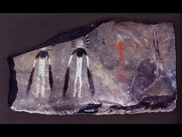 INCREDIBLE artwork from 5,000 years ago depicts 'Aliens' and was made with modern techniques
