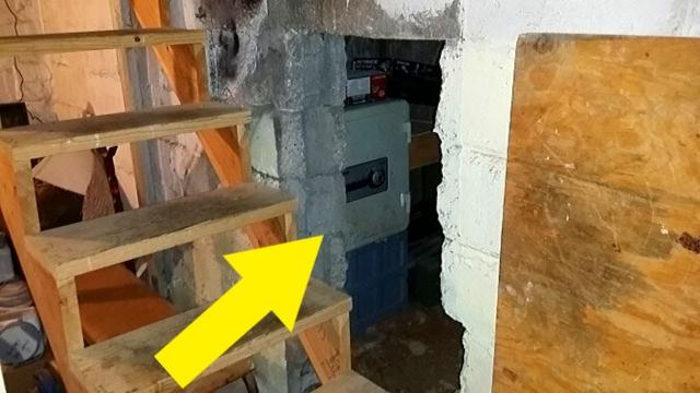 This Guy Finds A Hidden Room In His Basement, And What He Found Inside Is Mind Blowing