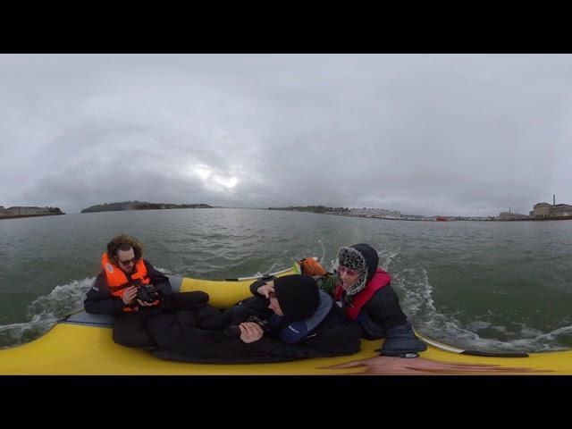 Drakes Island 360 Explore gone sour 4K VR 360