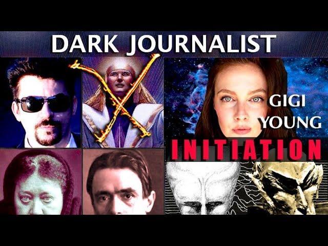 Dark Journalist X-Series 95 Gigi Young: Space Rituals Mystery Initiation Ahriman Steiner NASA UFOS