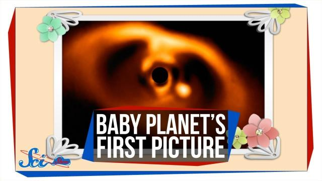 We Just Took the First Image of a Baby Planet!