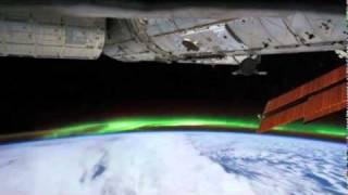 Aurora from Above: Space Station Crew Sees Southern Lights