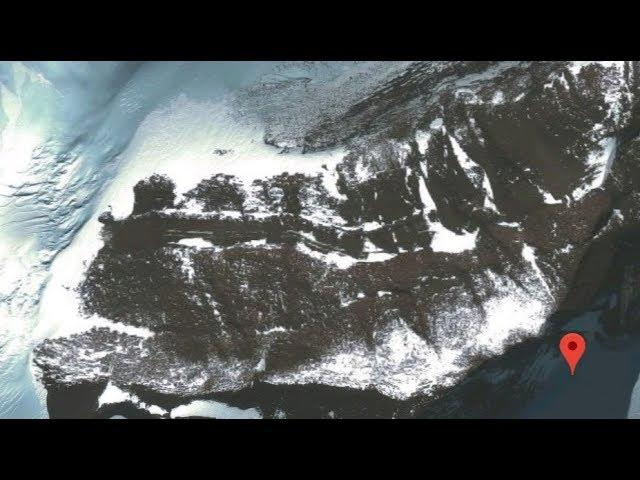 Antarctica's secrets EXPOSED? Google Earth uncovers mysterious 'ancient road and bridge'