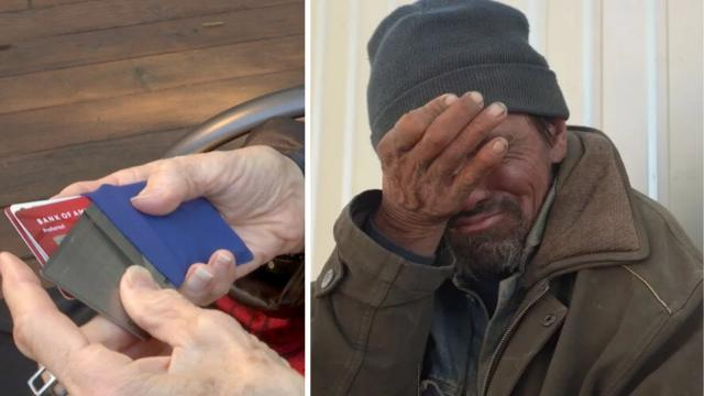 This Little Girl Raises $30K for Homeless Man Who Returned Her Grandmother's Lost Wallet