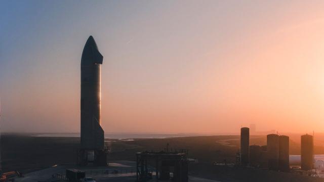 Starship   SN11   High-Altitude Flight Test