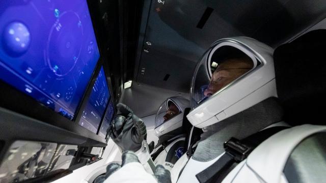 Crew Demo-2 Splashdown