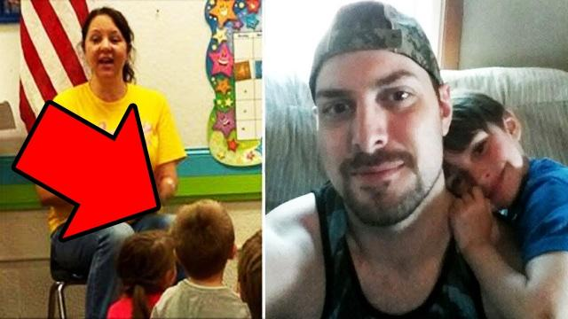 4-year-old reveals father's secret at school so, his teacher runs to the phone and demands an answer