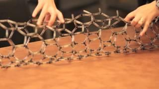 Drawing carbon nanotubes on paper at MIT