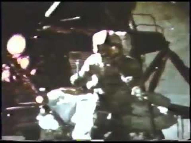 Dropping a Hammer and Feather on the Moon - Apollo 15 Flashback