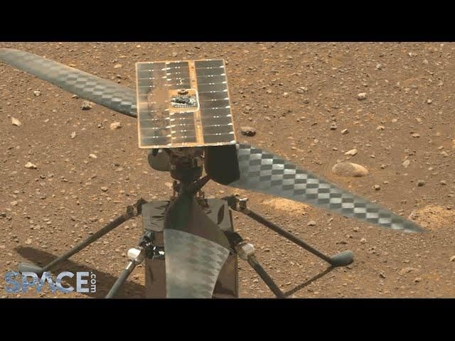 Mars helicopter's flight date set after delay - See its blades spin!