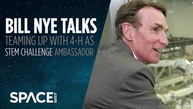 Bill Nye is 4-H's STEM Challenge ambassador - Exclusive interview