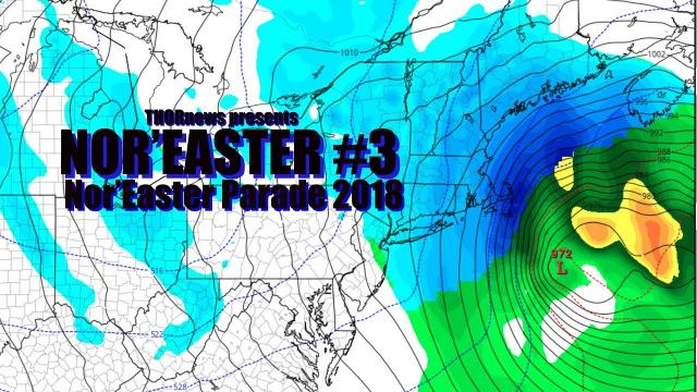 R U Ready 4 Nor'Easter #3 in 11 days? Nor'Easter Parade 2018