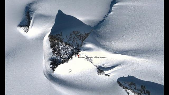 Google Admits Existence Of Ancient Pyramid In Antarctica! 1/18/18