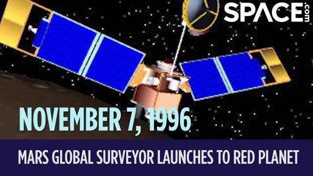 OTD in Space - Nov. 7: Mars Global Surveyor Launches to the Red Planet