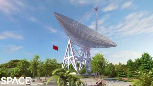 China to build largest omnidirectional radio telescope in the world