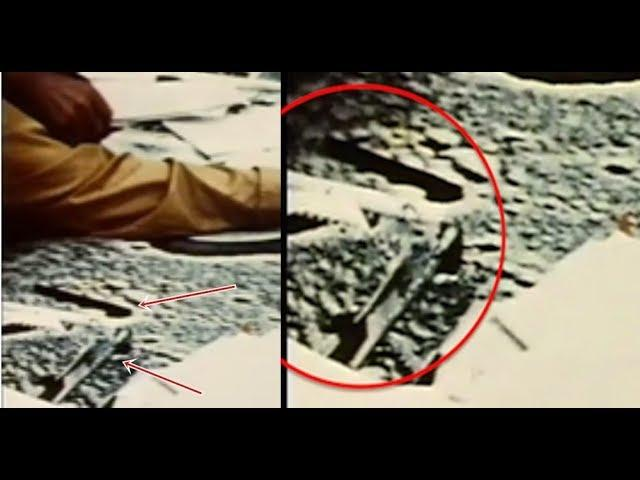 Apollo 15 Raw Video Reveals Buildings On The Moon Near Landing Site!