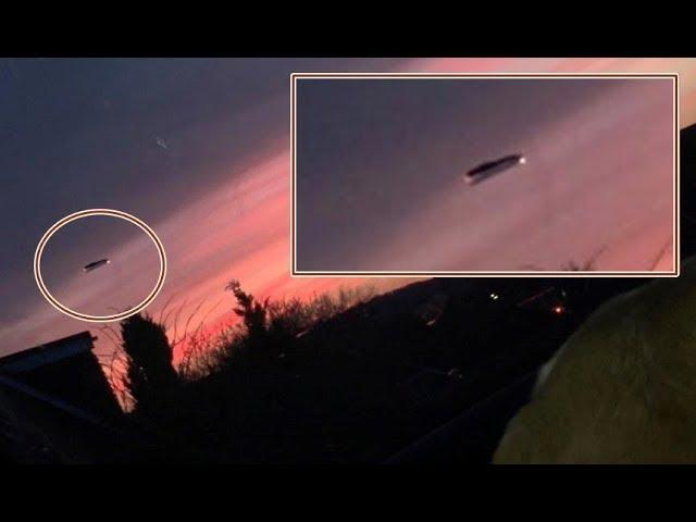 Strange object caught on camera over Cheadle, UK