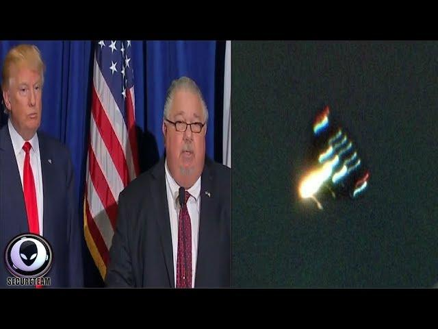 """TRUMP'S Chief Scientist: """"5000mph UFO Charged Me!"""" 8/29/17"""